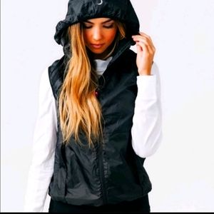 Zyia active black trainer vest